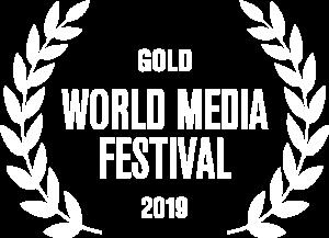 Gold World Media Festival 2019 award